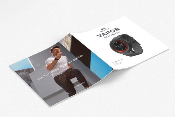Misfit Vapor Brochure Cover, Front + Back