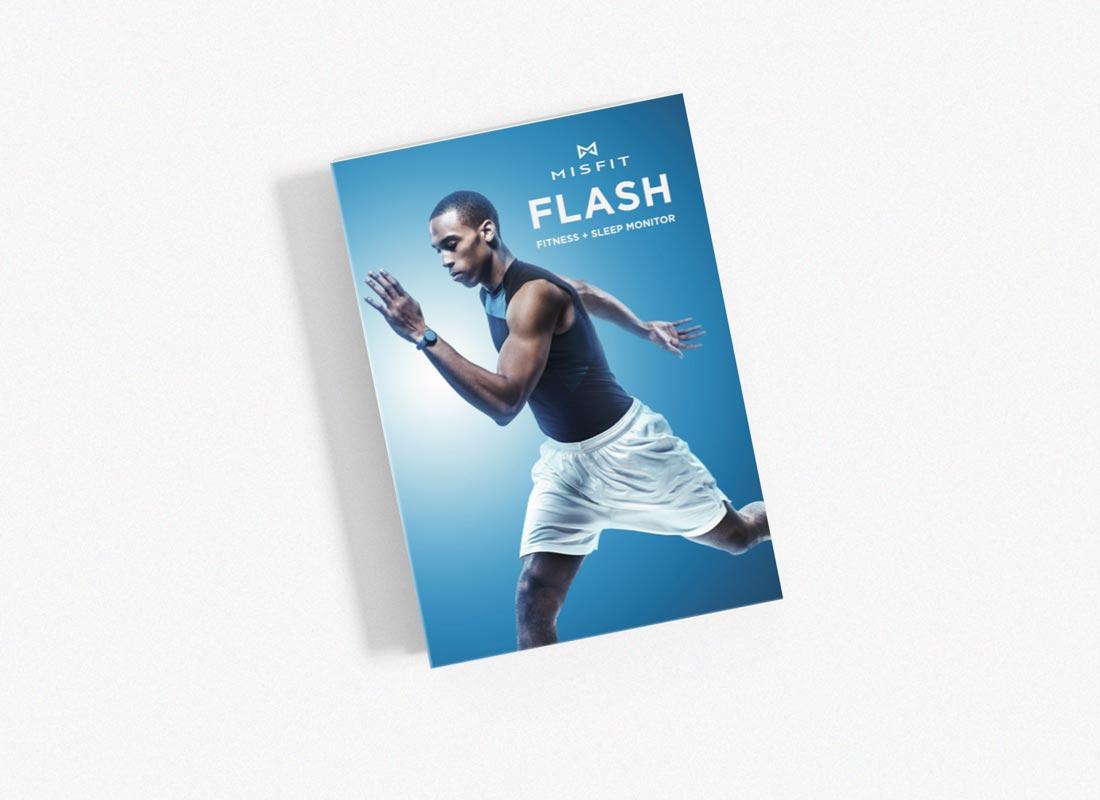 Misfit Flash Brochure, Front Cover